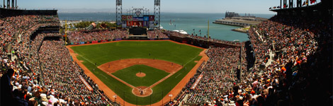 Austin Photographer | William Foster - panoramic of AT&T Park