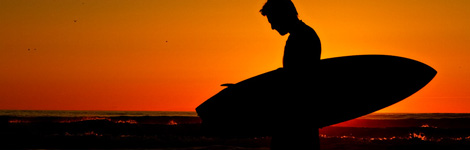 Sacramento Photographer | William Foster - surfer silhouette
