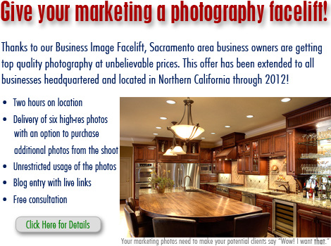 Sacramento Photographer, William Foster - Business Image Facelift